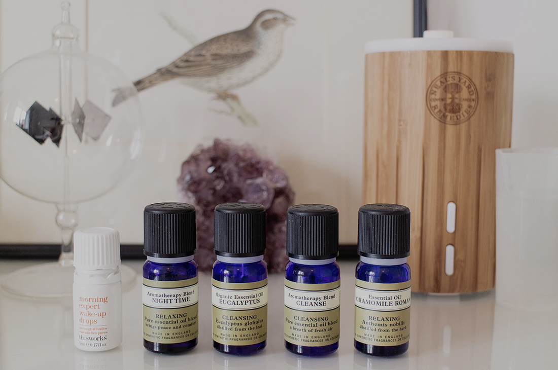 Essential Oils to ease Stress & Anxiety