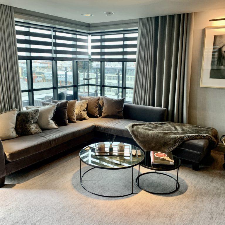 Living Room at Dakota Manchester