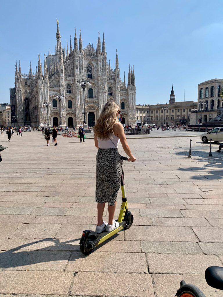 Jess in Milan