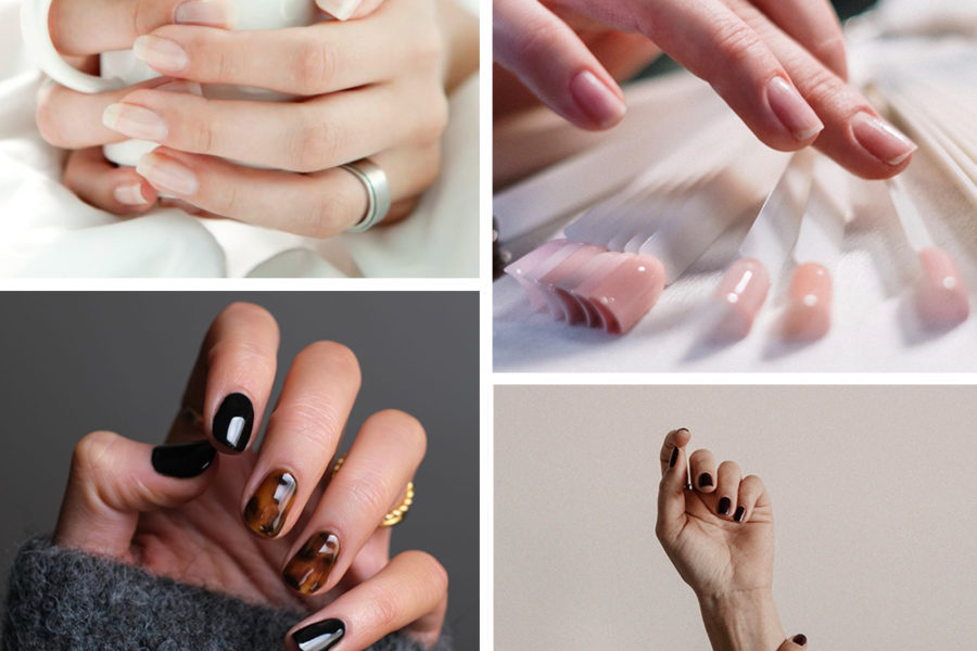 collage of nail inspiration