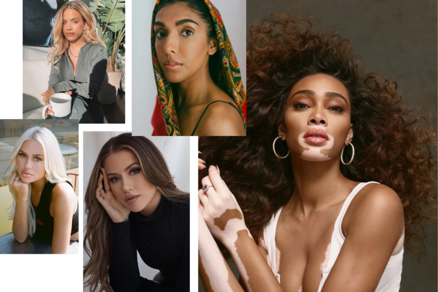 collage of female inspirations
