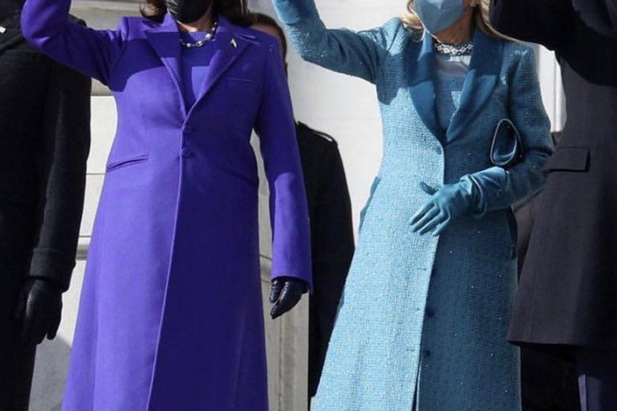 Kamala Harris and Jill Biden