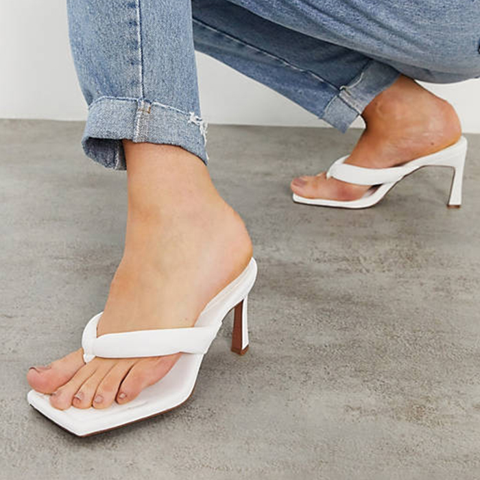 asos white sandals