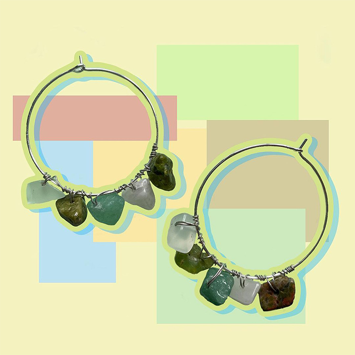 skiiye earrings