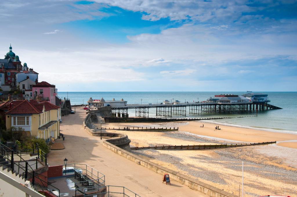 Cromer. seaside town in Norfolk, England