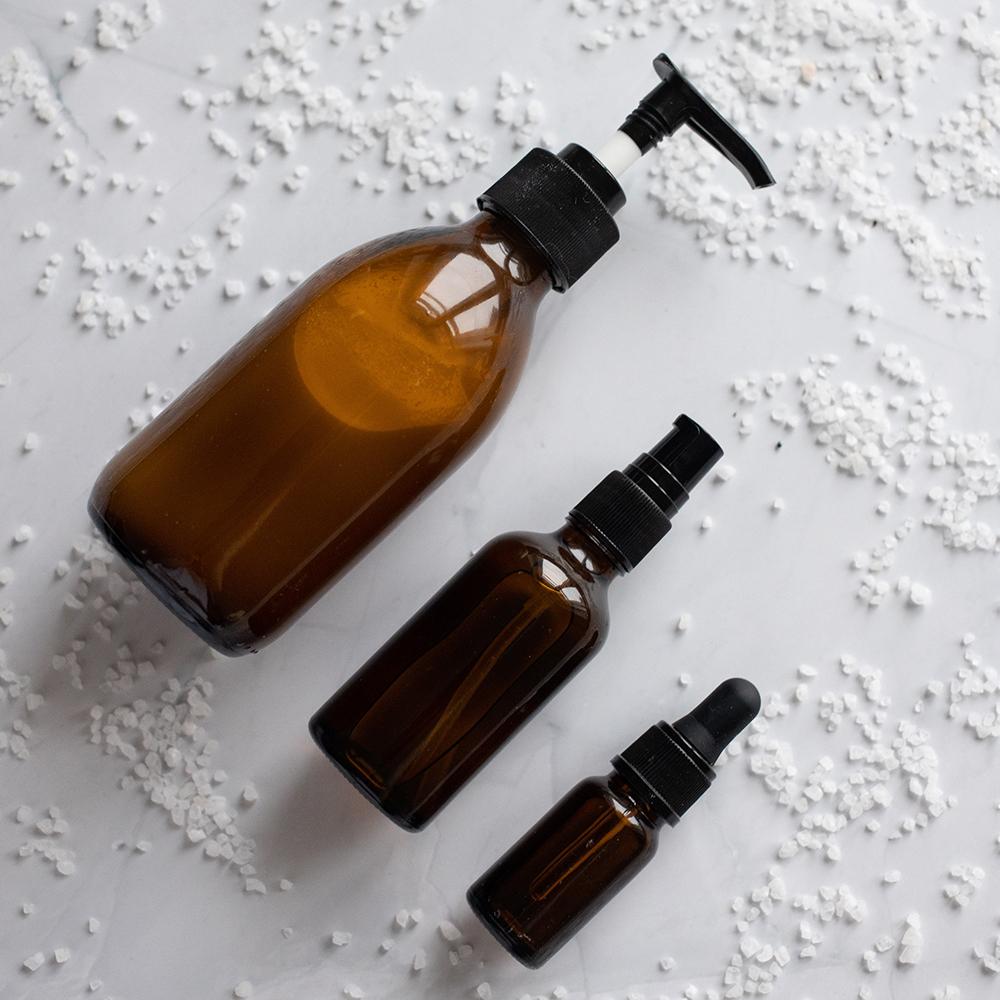 plastic skincare products