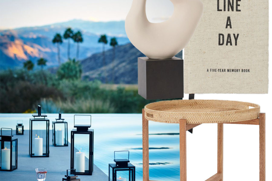 collage of h&m home products