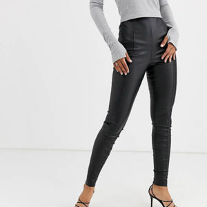 asos leather trousers