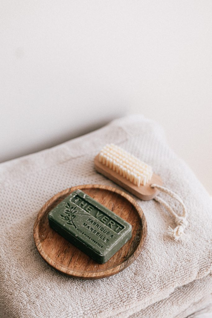 sustainable bar of soap