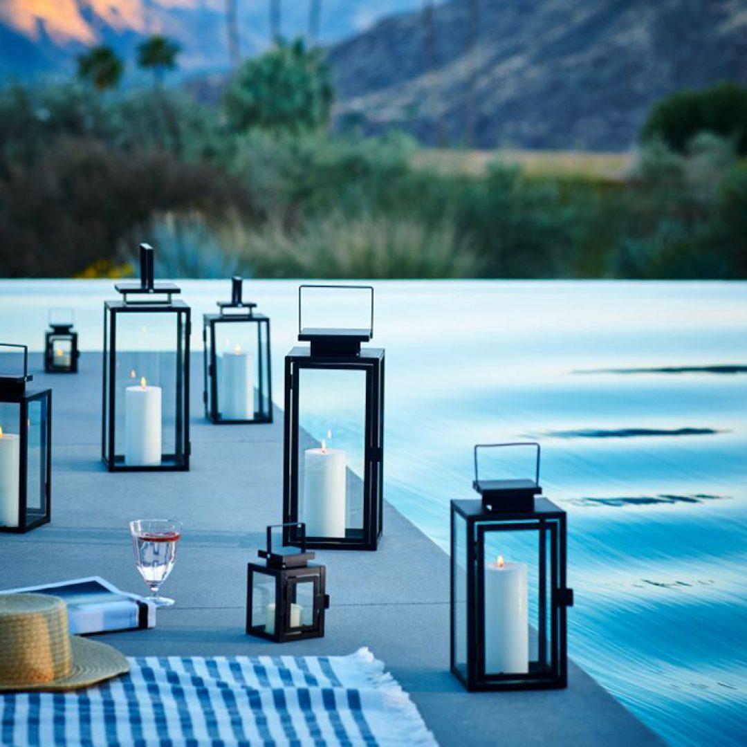 h&m candle lanterns